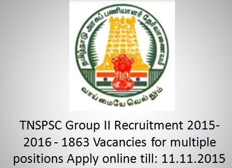 TNPSC_GroupII_Oct2015