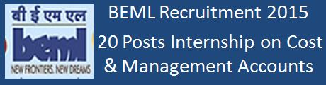 BEML Recruitment 2016 Advt_KPS052015