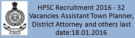 HPSC Recruitment 2015 2016
