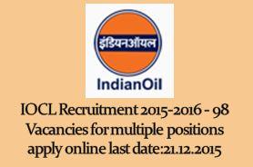 IOCL_Recruitment_2015_non_executives_pdrp_adv