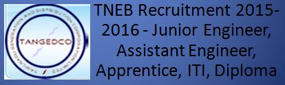 TANGEDCO TNEB Recruitment 2015 2016