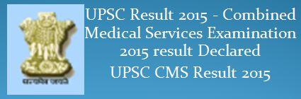 UPSC Final_Result_CMS_2015_Engl