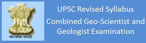 UPSC New_Syllabus_Geol_Hydro_Engl