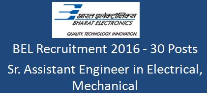 BEL Recruitment 2016 PSR-AD-detail(Web)2-2-16