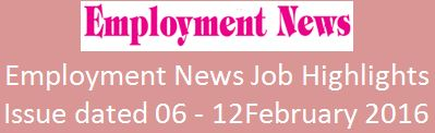 Employment 6th February 2016