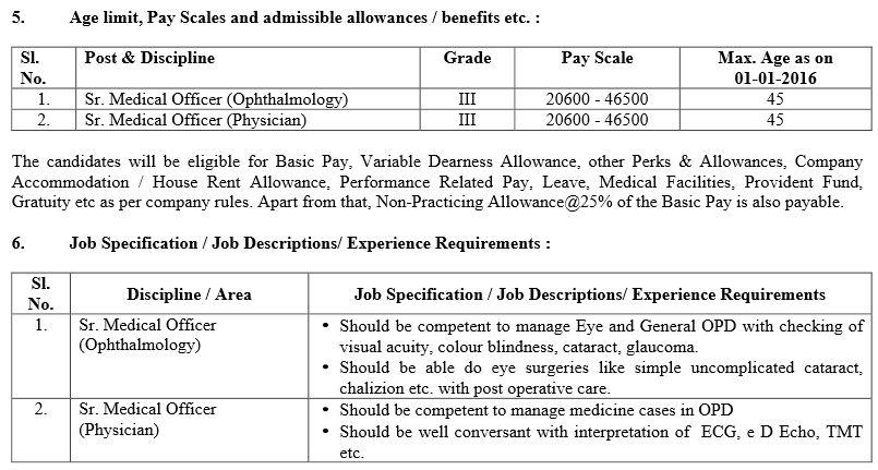 HAL Recruitment 2016 Senior Medical Officer 2 Age limit