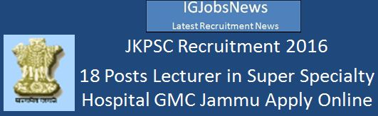 JKPSC_NOTIFICATION_LECT_GMC_JMU_SGR Advertisement