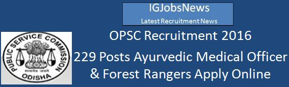 OPSC Advertisement 229 Posts