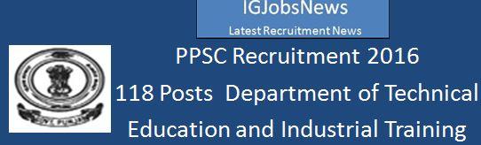 PPSC Recruitment 118 Lecturer posts