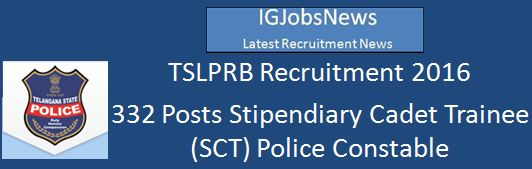 TSLPRB Recruitment 2016_PCCommunicationNotification