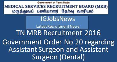 Tamil Nadu Government Order_par_e_20_2016