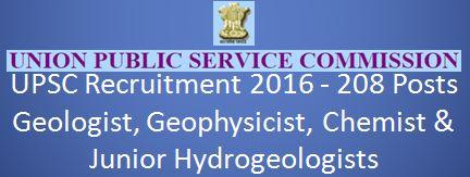 UPSC Recruitment 2016 GEOL_Final_English_2016_N