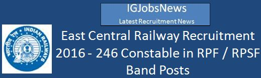 ECR Musical Instrument Constable Recruitment 2016