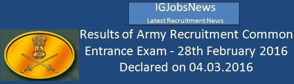 Indian Army Recruitment Final_Results_CEE_280216