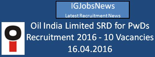 Oil India_RE-NOTIFICATION UNDER SPECIAL Recruitment Drive