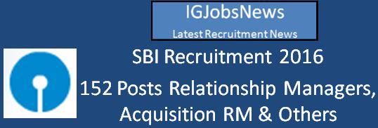 SBI Recruitment 2016-Rectruitment-Wealth-Management