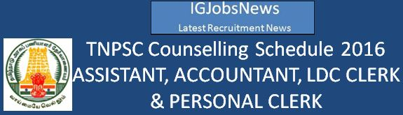 TNPSC Group 2a 2014 Examination Counselling 2016