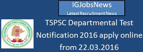 TSPSC dept-notfn-0316