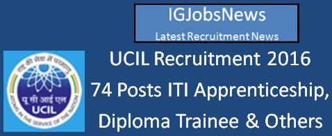 UCIL_Advt No.01&2-2016