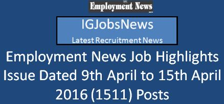 Employment Issue Dated 8th April 2016