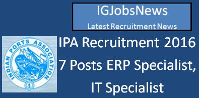 IPA Recruitment April 2016