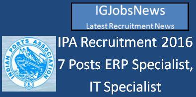 IPA Recruitment April 2016