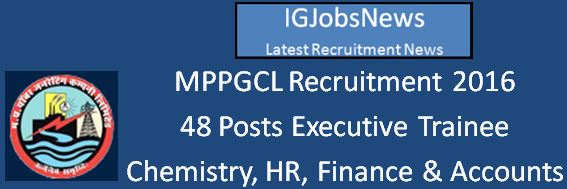 MPPGCL_Recruitment_Notification April 2016