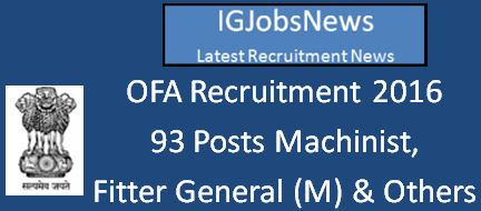 OFA Recruitment April 2016