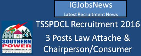 TSSPDCL Recruitment April 2016