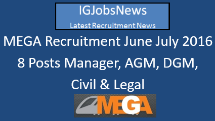 MEGA Recruitment June July 2016