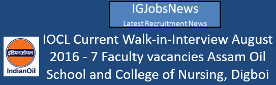 IOCL Walk-in-Interview August 2016_s