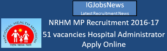 NRHM MP Recruitment 2016-17