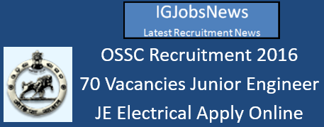 OSSC Recruitment 2016_August