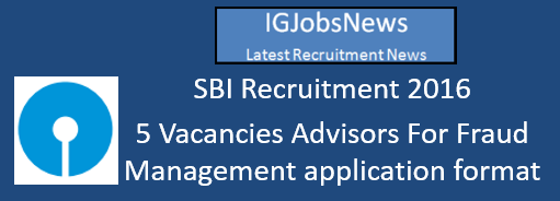SBI Recruitment 2015 August