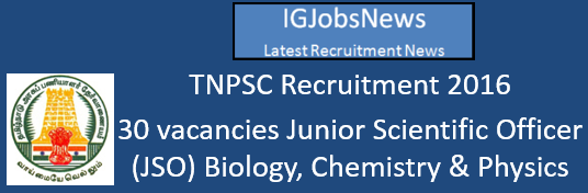 TNPSC Recruitment 2016_August_fb