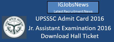 UPSSSC Admit Card 2016_h