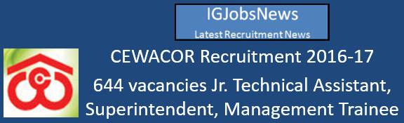 cewacor-recruitment-2016-17