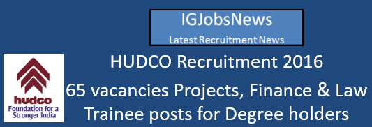 hudco-trainee-recruitment-spetember-2016