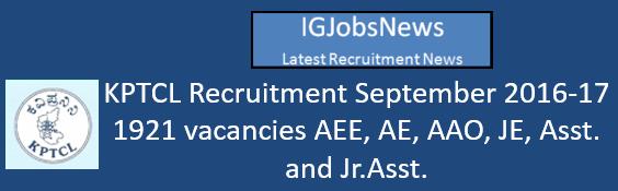 kptcl-recruitment-september-2016