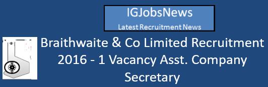 braithwaiteindia-recruitment-2016
