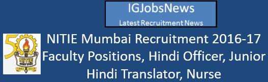 nitie-mumbai-recruitment-2016-17