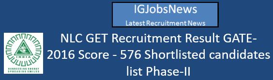 nlc-india-get-result-gate-2016-score
