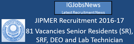 jipmer-sr-deo-recruitment-november-2016