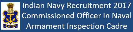 Join Indian Navy Govt. Jobs 2016-17