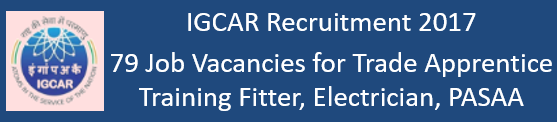 IGCAR Govt. Jobs 2017