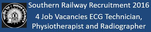 Railway Govt. Jobs 2016-17