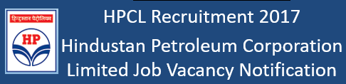 HPCL Govt. Job Recruitment Notification 2017