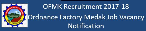 OFMK Govt. Jobs 2017 2018