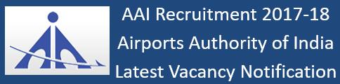 AAI Govt. Jobs 2017-18