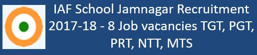 IAF Govt. Jobs 2017-18